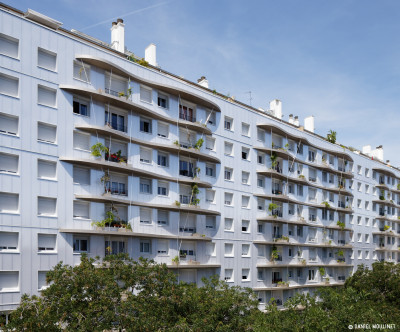 Logements à Tolbiac, ZAC Paris Rive Gauche à Paris (75)